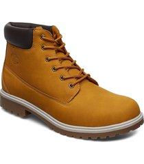 mid cut shoe upstate 3.0 snörade stövlar gul champion