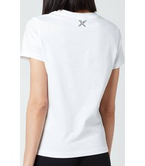 kenzo women's sport classic t-shirt - white - l