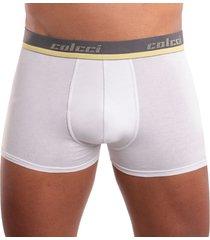 cueca modelo boxer em algodã£o colcci - branco - masculino - dafiti