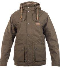 chaqueta roble b-dry verde militar lippi