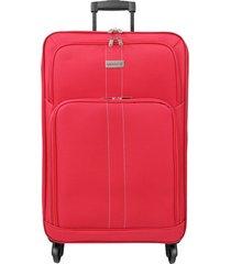 maleta de viaje mediana rojo omni - explora