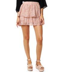 falda rosa caekilia girasol