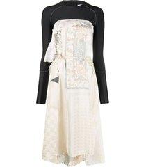 hybrid wrap dress
