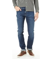 atelier noterman jeans atn01 walk to happiness dark denim blauw
