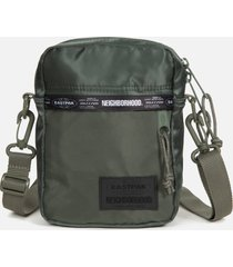 eastpak men's x neighborhood one shoulder bag - olive