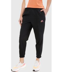 pantalón negro-multicolor adidas performance knit pants