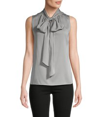 the scarf tie neck top