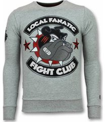 sweater local fanatic fight club trui - bulldog sweater - truien -