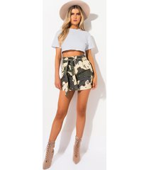 akira can you see me now stretchy high waisted belted mini skirt