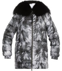 mr & mrs italy quilted down jacket