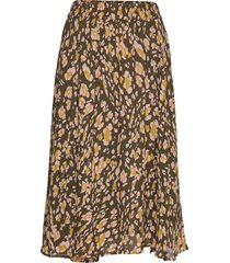 clariceiw skirt knälång kjol gul inwear