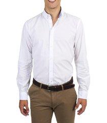 camisa texturada blanco arrow