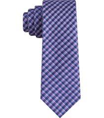 tommy hilfiger men's york slim plaid tie