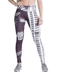 calça legging feminina surty street print