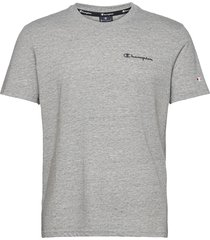 crewneck t-shirt t-shirts short-sleeved grå champion