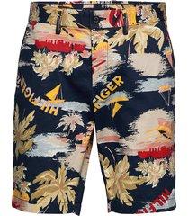 brooklyn short hawai shorts chinos shorts multi/mönstrad tommy hilfiger
