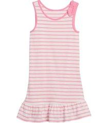 vestido sin mangas rosa gap