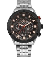 relógio technos carbon masculino