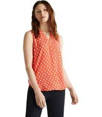 blusa de lenzing ecovero coral esprit
