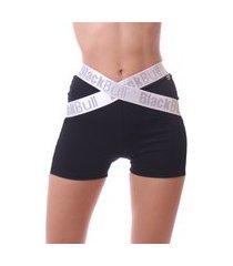 shorts simony lingerie legging cós elastico new zeland preto
