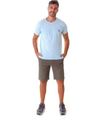 camiseta opera rock t-shirt azul cã©u - azul - masculino - algodã£o - dafiti
