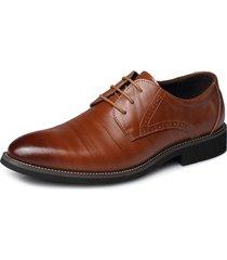 scarpe da uomo di grandi dimensioni in pelle di mucca da uomo