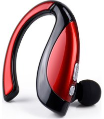 audífonos bluetooth, original hifi inalambricos stereo audifonos bluetooth manos libres  headset sport auricular manos libres auriculares con música para el iphone 6 samsung s7 xiaomi 5 (rojo)