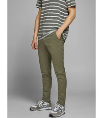 pantalón jack & jones marco verde - calce slim fit