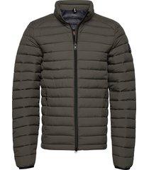 beret jacket man gevoerd jack groen ecoalf