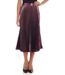 alberta ferretti - pleated skirt