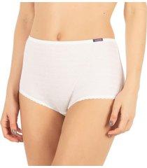 calcinha plus cintura alta branco | 488.023