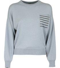 brunello cucinelli crewneck sweater cashmere sweater with monili