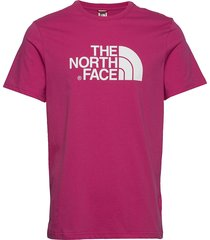 m s/s easy tee t-shirts short-sleeved rosa the north face