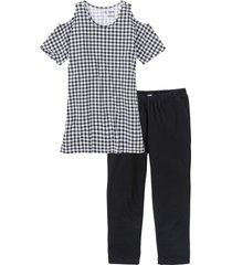 pyjamas med caprileggings