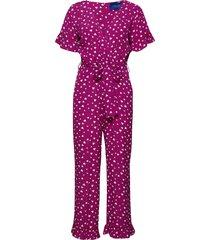 megan jumpsuit jumpsuit roze résumé