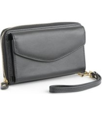 royce new york wristlet wallet