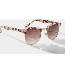 jazz milky tort wayfarer sunglasses - blush