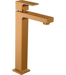 torneira para banheiro mesa unic red gold bica alta 1189.gl90.rd - deca - deca
