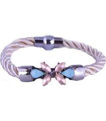 pulseira armazem rr bijoux cordão cristais feminina