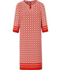 jurk 3/4-mouwen van basler rood