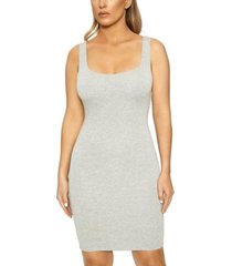 naked wardrobe the nw tank mini dress