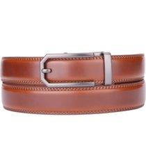 gallery seven men's classic ratchet leather belt