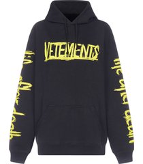 vetements world tour oversized cotton hoodie