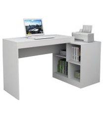 escrivaninha mesa para escritório branco lilies móveiss