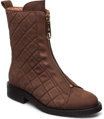 boots 4768 shoes boots ankle boots ankle boot - flat brun billi bi