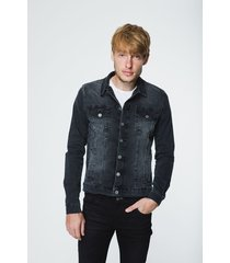 campera gris wanama jeans ranger used grey
