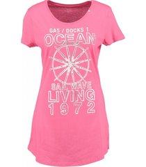 gas roze long shirt