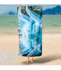 3d-shock-waterfall-printed-rectangle-large-microfiber-beach-towels-tapestry-outd