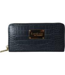 bebe natalia croco mini wallet