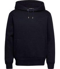 chip pocket hoodie hoodie trui blauw j. lindeberg